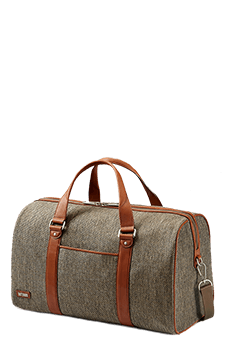 Hartmann Tweed Belting Business Duffel S Natural Tweed