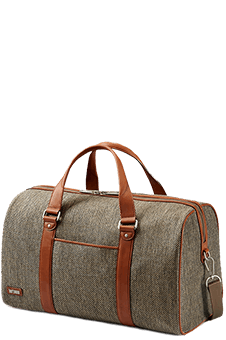 Hartmann Tweed Belting Business Duffel M Natural Tweed